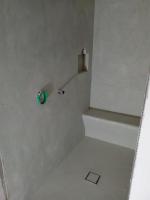 mortex douche Langemark voorbereidende laag